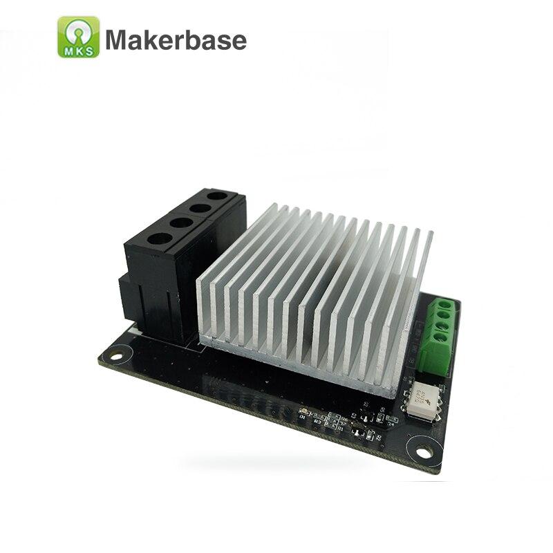 Pieza de impresora 3D controlador de calefacción MKS MOSFET para cama de calor/módulo MOS extrusor supera 30 A soporta gran corriente