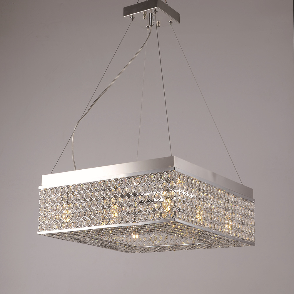 New crystal led chandeliers stainless steel chandelier led lamps led new crystal led chandeliers stainless steel chandelier led lamps led lighting high power g9 led lustre light pendantdroplight 2 in chandeliers from lights aloadofball Choice Image