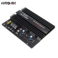 KROAK 12V 100W Mono Car Audio Power Amplifier Powerful Bass Subwoofers Amp PA 60A Black Car