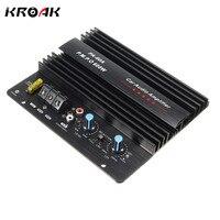 KROAK 12V 600W Mono Car Audio Power Amplifier Powerful Bass Subwoofers Amp PA 60A Black Car