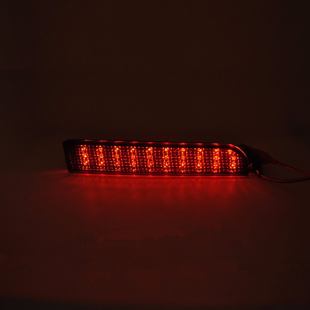 Mitsubishi Lancer  Rear Bumper Reflector Brake Light Lamp-4