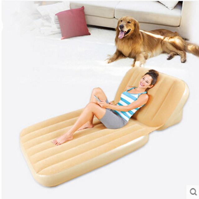 Único incremento colchón inflable plegable por una cama de colchón de aire de doble propósito colchón inflable