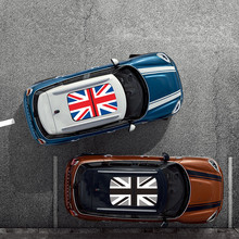 Union Jack Car Sunroof Roof Sticker for Mini Cooper F54 F55 F56 F60 R55 R56 R60 R61 Exterior Styling Decals Accessories