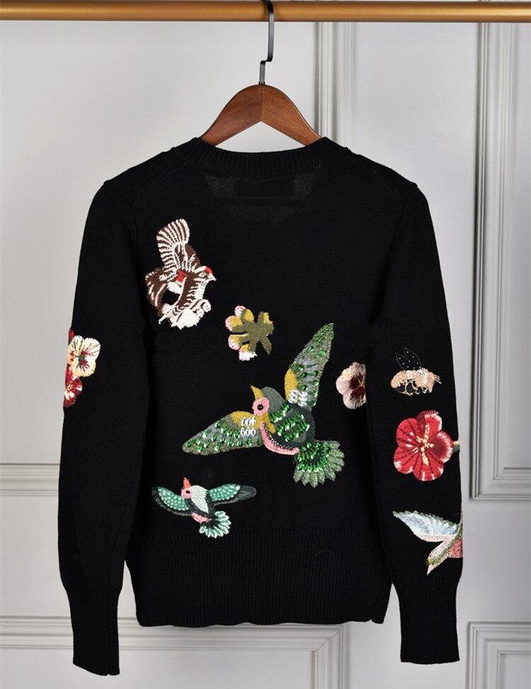 New arrival Autumn winter diamonds sweaters Fashion women