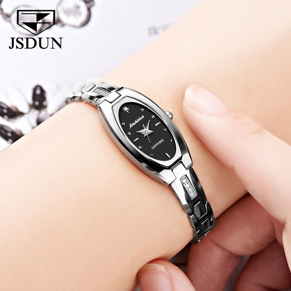 JSDUN женские часы женские модные часы 2019 Geneva дизайнерские женские часы люксовый бренд бриллиантовые кварцевые наручные часы женские - 3