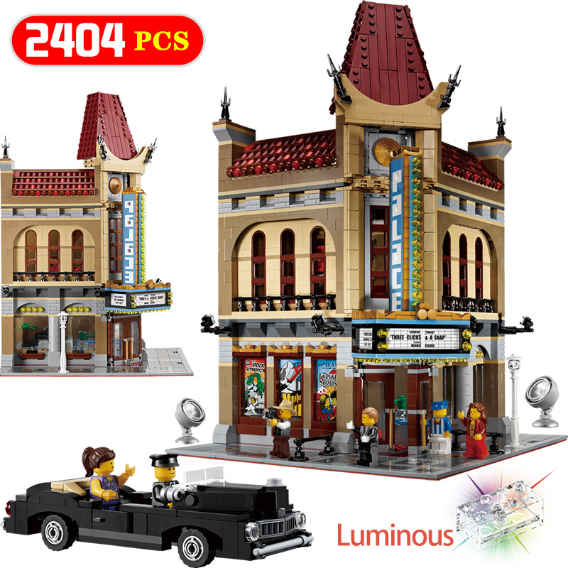 Creators Compatible LegoINGLYS Architecture Creator Expert Palace Model Kits Building Blocks Brick Toys For Children цены