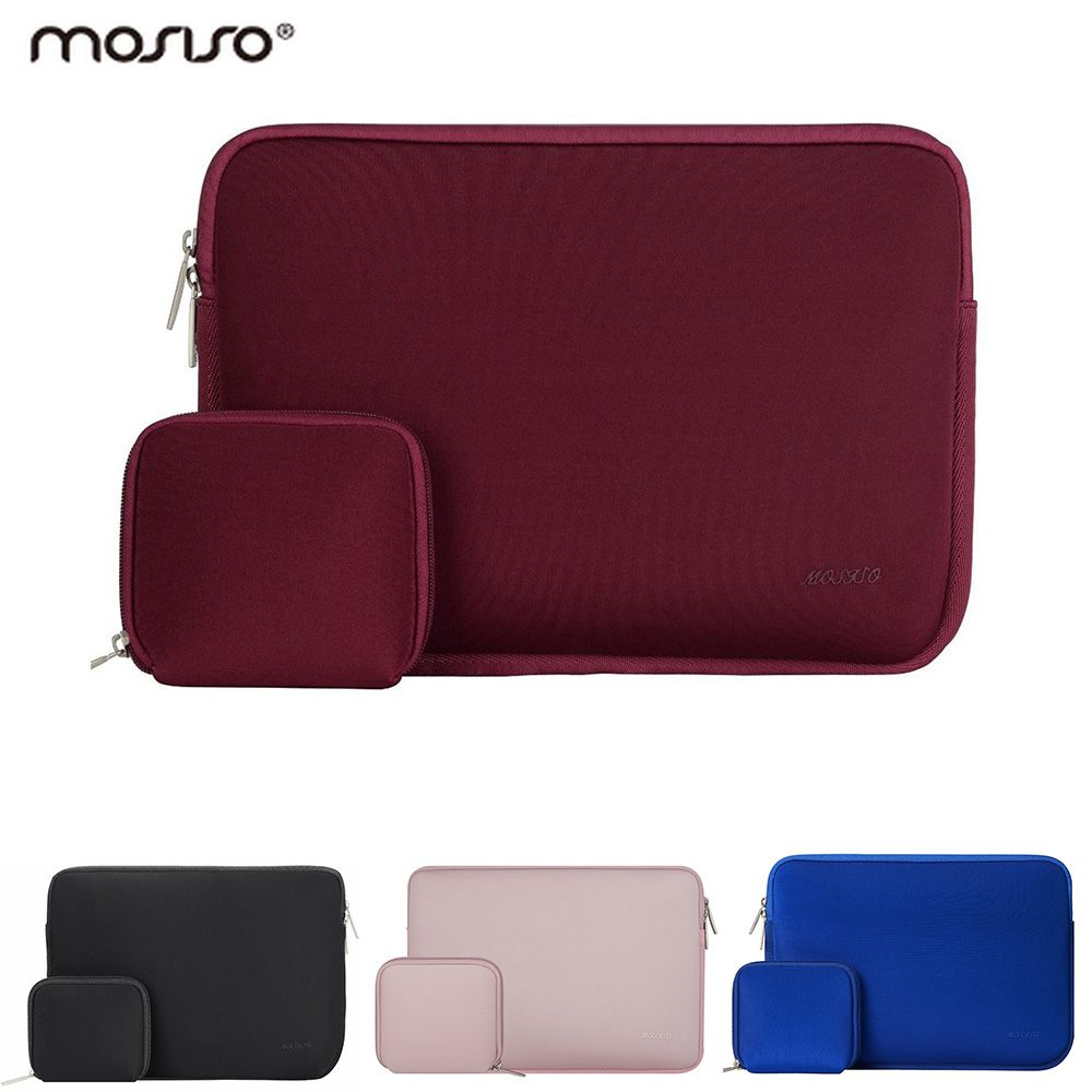 Mosiso Laptop 11 13.3 15.6 inch Neoprene Waterproof Handbag Case for MacBook Air 13 Pro 13 Dell/Acer/Lenovo for Mac Sleeve Case sleeve bag for lenovo air 12 2 inch tablet laptop pouch case handbag protective skin cover for lenovo air 13 air pro 13 3 gift