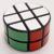 Lanlan cilindro 3 x 3 x 2 cubo mágico mezclado ( blanco + negro ) y blanca más nueva moda cubos magicos rompecabezas bienvenida para comprar