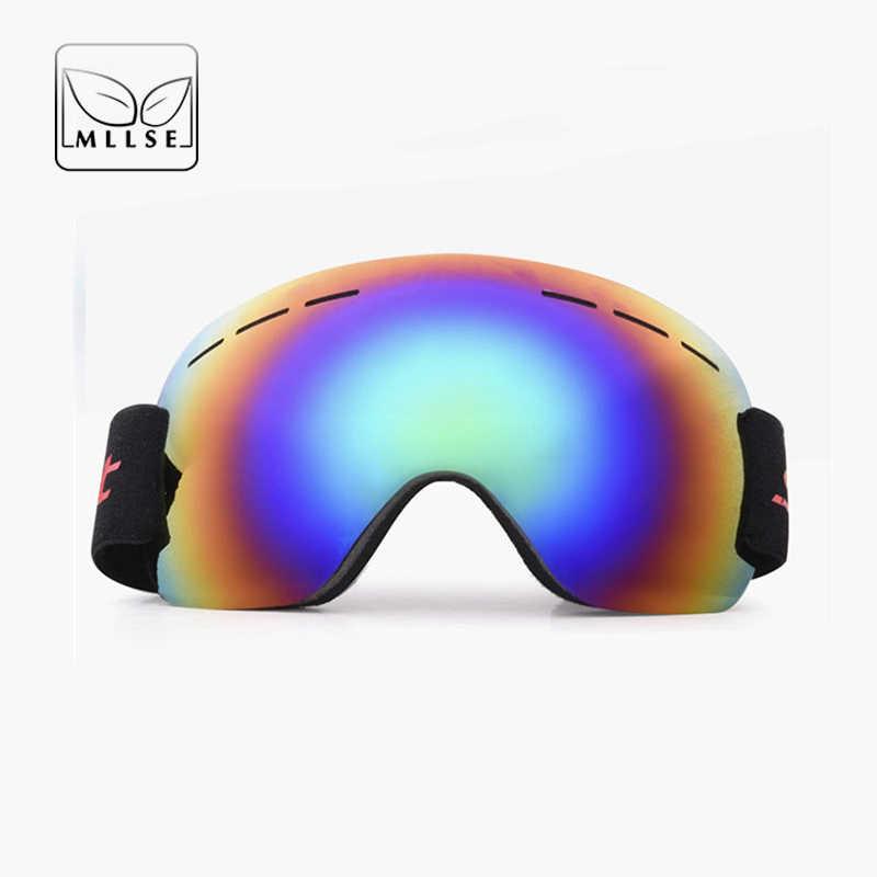 210372fae9 MLLSE marca deportes gafas de sol hombres mujeres de doble capas  Anti-niebla gafas a
