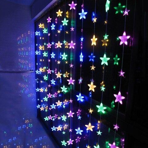 corda cortina corda iluminacao luminarias guirlanda romantica