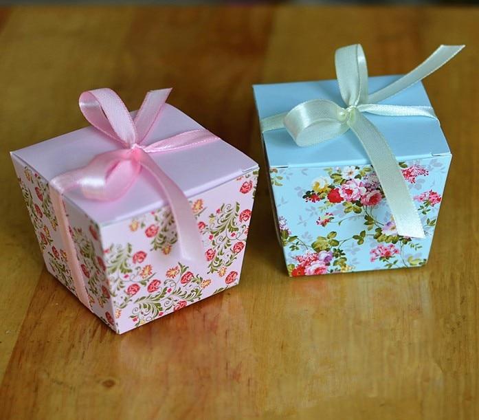 2017 New Elegant Korean Wedding Favor Candy Boxes Bridal