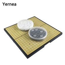 Yernea New Go Game Set Magnetic Chess Gobang Folding Portable Training Class With Enlightenment Board