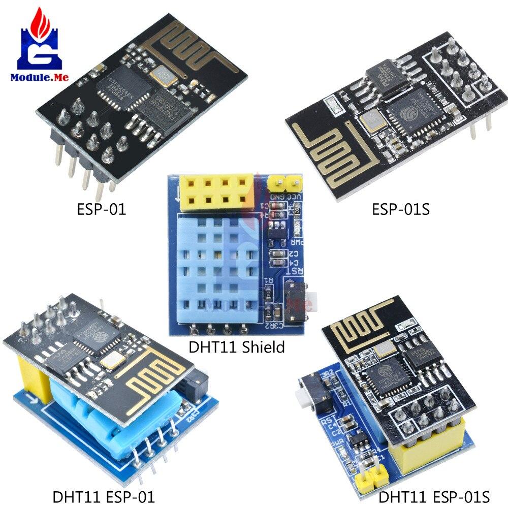 ESP8266 DHT11 Temperature and Humidity WiFi Module Wireless Module ESP-01 01S LO