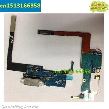 5 шт./лот N900V загрузочного люка flex для samsung Galaxy Note 3 N900V шлейф зарядное Зарядка для док-порт + Mic