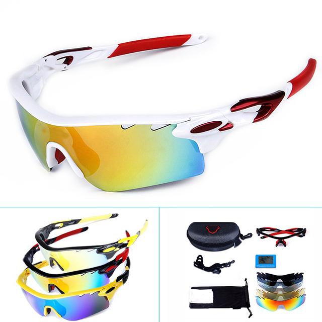 Professional Polarized Cycling Glasses Men Women Riding MTB Sunglasses Oculos Sport Eye Protection Goggles Fishing Eyewear