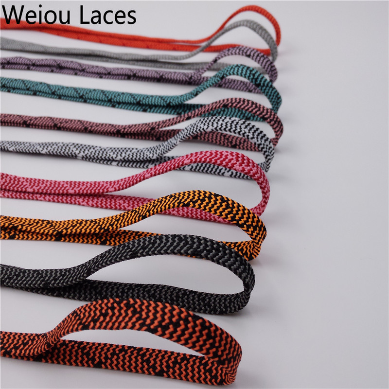 (30Pairs/Lot) Weiou Amazing Flat Pattern Shoelaces Replacement for Hi-Tops & Lo-Tops Sneakers Boot Spider Polyester Bootlaces