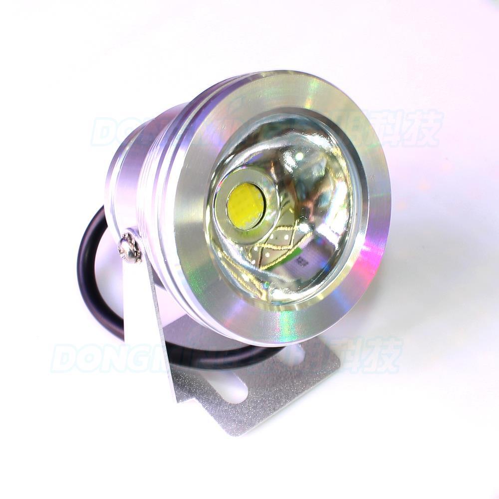 Led Lamps 10w Warm White/cool White Led Underwater Light 700-800lm Dc12v Aluminum Cover Flat Lens Pool Lights Float Free Shipping