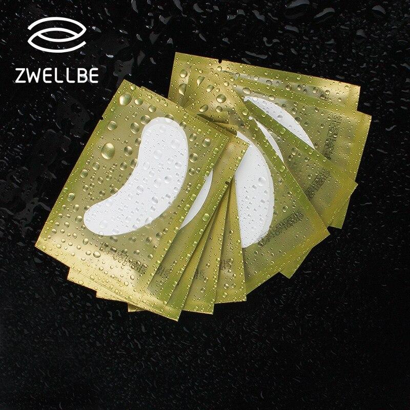 50pairs/pack New Paper Patches Eyelash Under Eye Pads Lash Eyelash Extension Paper Patches Eye Tips Sticker Wraps Make Up Tools(China)