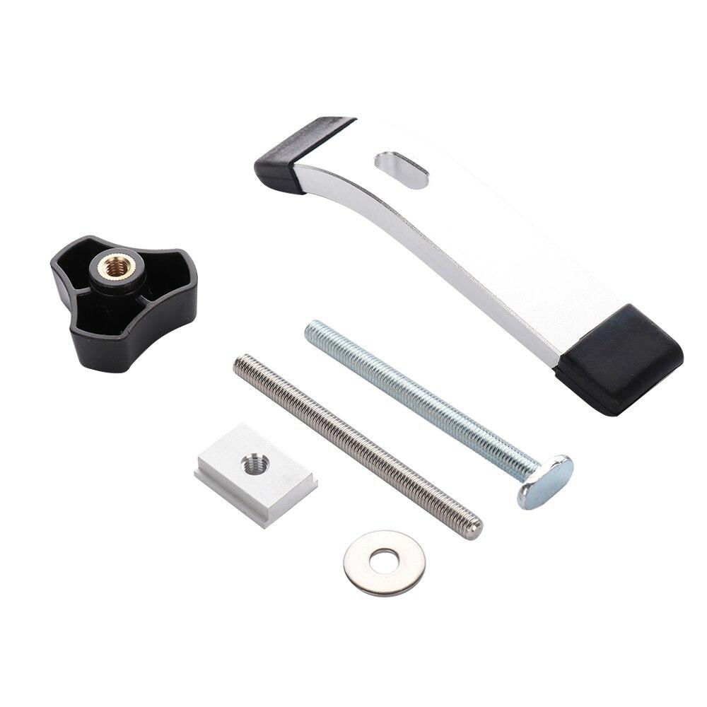 Mini T-tracks Slot Miter Track Jig Fixture T-Slot Woodworking Pressboard Clamp T Screw T Slider Pressure Block