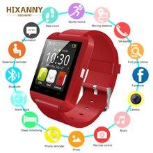 Купить с кэшбэком HIXANNY 2019 New Arriverl Bluetooth Smart Watch Health rate Watch For iOS iPhone Samsung Sony Huawei Xiaomi Andr PK GT08 A1