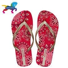 Hotmarzz 여성 보헤미아 슬리퍼 숙녀 꽃 플립 플롭 여름 패션 비치 샌들 슬라이드 신발