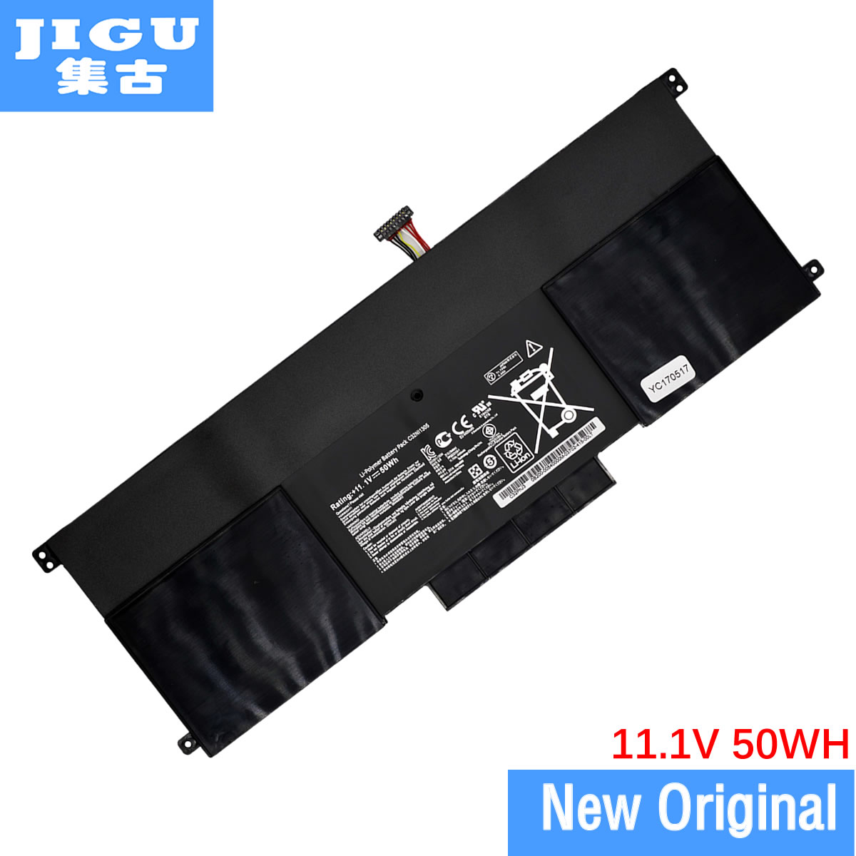 JIGU laptop battery FOR Asus C32N1305 UX301LA for Zenbook UX301L UX301LA UX301LA-C4003H UX301LA UX301LA4500 jigu laptop battery for dell 8858x 8p3yx 911md vostro 3460 3560 latitude e6120 e6420 e6520 4400mah