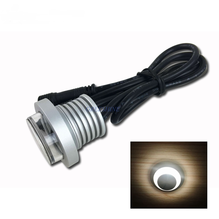 1w 12v 24v Ip67 Waterproof Led Downlight Outdoor Recessed Ceiling Light Mini Led Spot Light
