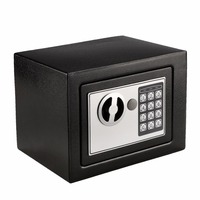 Homdox 22 5 X 16 5 X 16 5cm Durable Digital Electronic Safe Box Keypad Lock