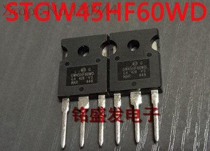 5pcs/lot STGW45HF60WD GW45HF60WD 45HF60W 45A 600V New Original In Stock