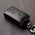 Genuine Leather Car Key Fob Set Case Covers Sticker Keyring Holder For Lexus Es Gs Is Ls Lx Rx Sc Series 3 4 Buttons Accessories