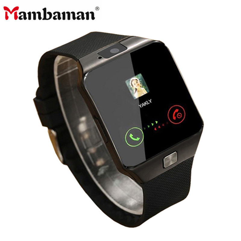<font><b>Bluetooth</b></font> <font><b>Smart</b></font> <font><b>Watch</b></font> Smartwatch DZ09 Android Phone Call Relogio 2G GSM SIM TF Card Camera for iPhone HUAWEI Samsung PK <font><b>A1</b></font> GT08 image