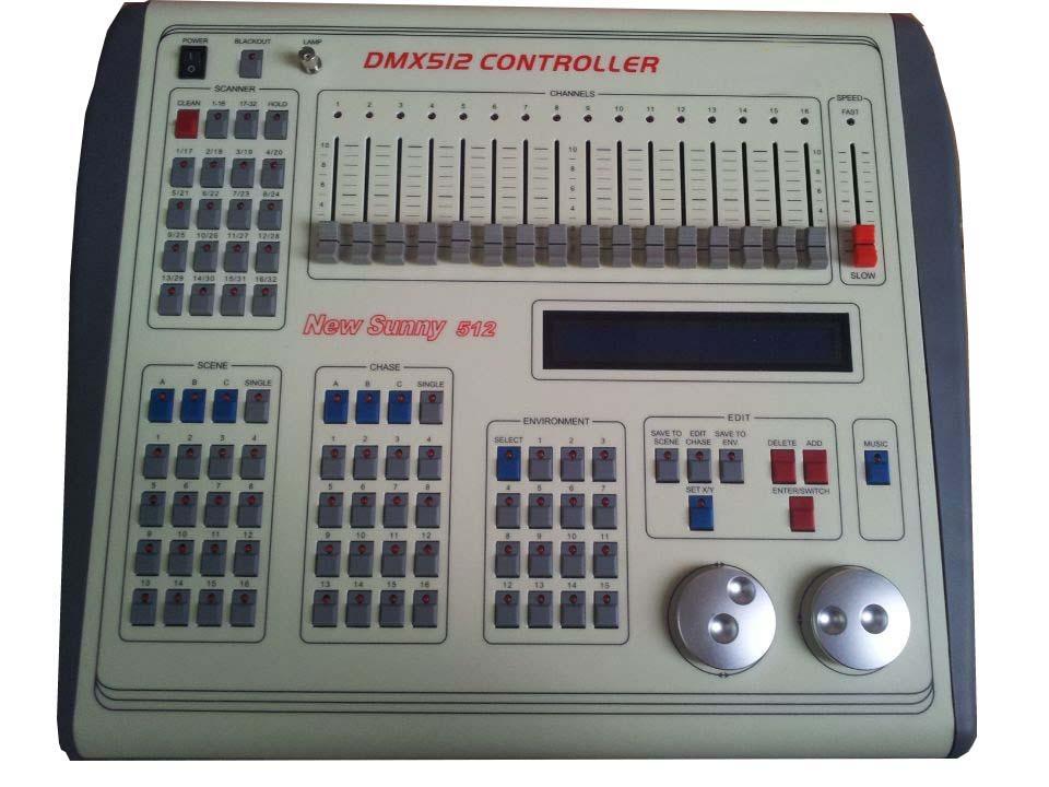EXW Price NEW SUNNY512 DMX Controller,Stage DMX Controller System,DMX Console For Stage Event PartyEXW Price NEW SUNNY512 DMX Controller,Stage DMX Controller System,DMX Console For Stage Event Party
