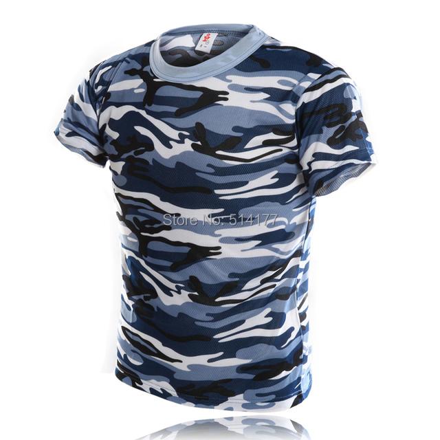 d3c7f9c0 T Shirt Men 2016 New Style Fashion Camouflage Short Sleeve T-shirt,  Personality Navy Camouflage O-Neck T-shirt Men's Clothing