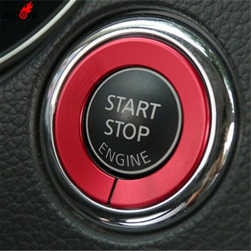 Car Ignition Engine Start Stop Sticker Trim For Infiniti