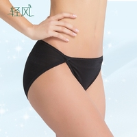 Silk Underwear Female 100 Silk Knitting Needle 42 Simple Bow Waist Silk Panties