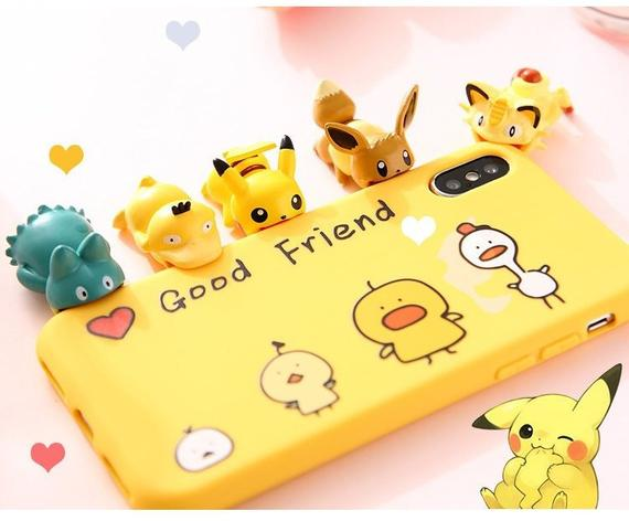 Pokemon USB Protective Case Smart Cover  Dragon Ball Mario Cable Bite Cosplay Accessory Protects Animals Chompers Badge Holder