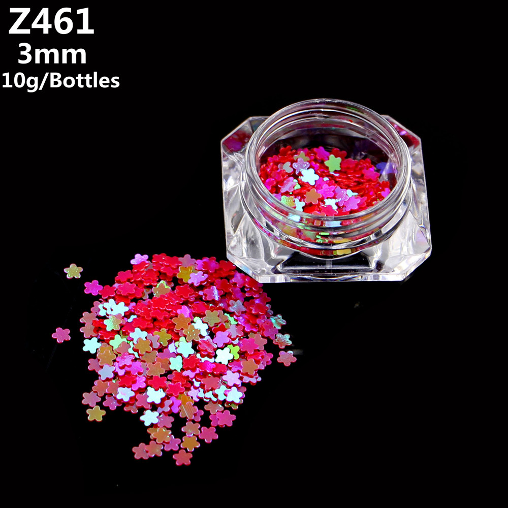 12 Color Choose New Flowers Designs Beautiful Shiny Pink Sparkly
