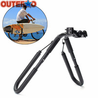 25 to 32mm Accessories Fits Surfboards Up to 8 Bike Mount Surfboard Wakeboard Racks Bicycle Surfing Carrier Mount to Seat Posts