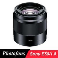 Sony lente 50/1.8 para sony e lente 50mm f/1.8 oss (preta), para sony a5000 a5100 a6000 a6300 a6000