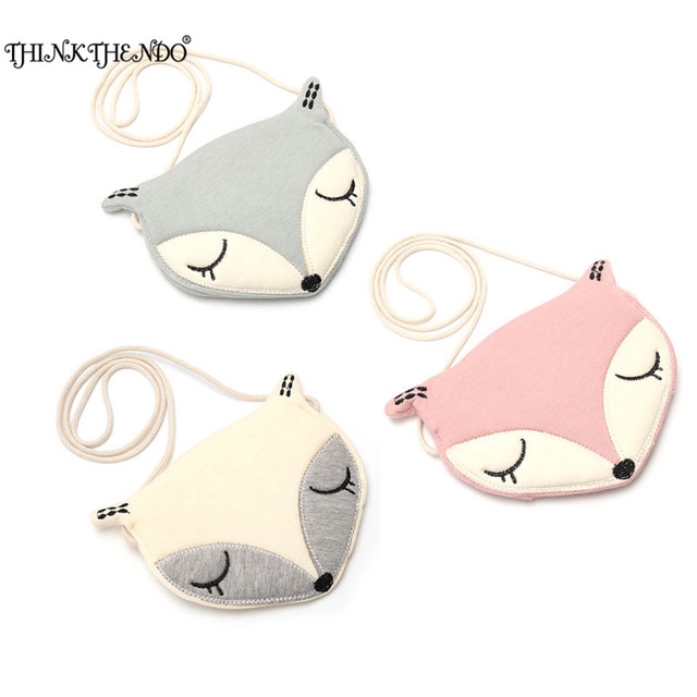 0b7e2c2596d Lovely Baby Bag Accessories Children Shoulder Bag Cute Fox Girls Messenger  Bag Coin Purse