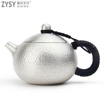 High grade 999 Silber Produkte Cloisonné Hand made Verkostung tasse Kung Fu Teetasse geschenk für familie und freunde küche büro tee-set