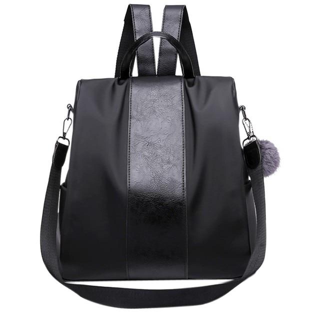 10e72304efe94 Frauen Rucksack für Schüler Schule Stil Oxford Leder Rucksack Tasche Für  College Einfache Design Frauen Casual Daypacks Schul  22