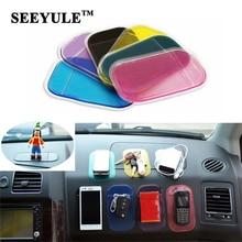 1pc SEEYULE Car Anti Slip Mat Dashboard Sticky Pad PVC for Non Slip Phone/mp3/mp4/GPS/Pad Car Accessories