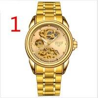 Ultra thin automatic mechanical watch tungsten steel men's watch men's waterproof luminous waterproof trend new