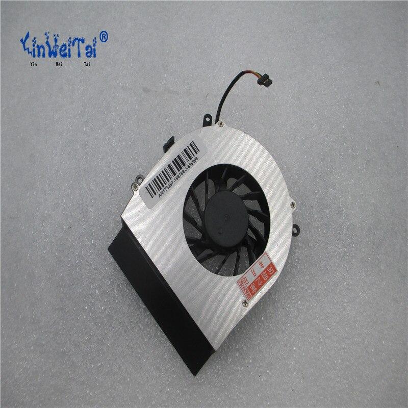 laptop cpu cooling fan for Fujitsu Amilo Pi2530 Pi2540 Xi2428 Xi2528 Xi2550 Pi2550 BS601305H-03 28G200550-00 P55 Laptop Fan