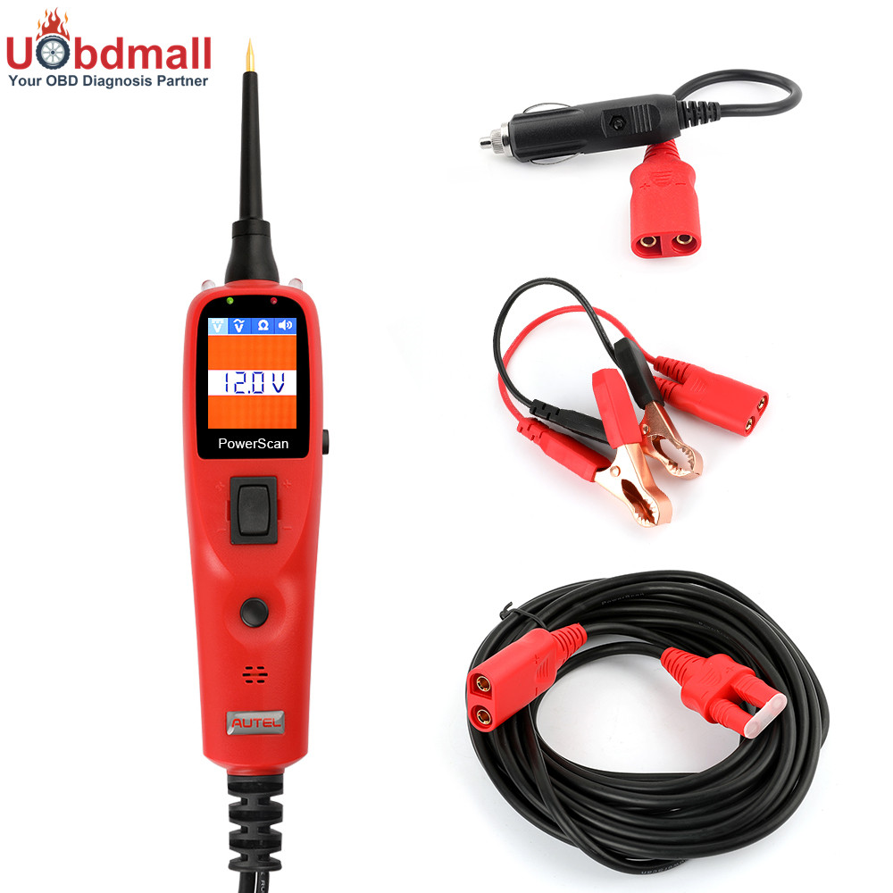 Electrical Power Tester : Universal autel ps power scan electric circuit tester