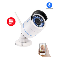 Techage 1080P 720P SD Card Record Wireless Camera Wifi Audio Sound Video Outdoor Night Vision Security CCTV Surveillance Yoosee