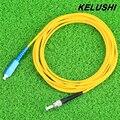 KELUSHI Fibra Óptica cables de Conexión de cables conduce SC-ST Monomodo 9/125 SM jumper cables Con Dos Conectores Duplex 3mm 3 M LSZH LSOH envío Gratis