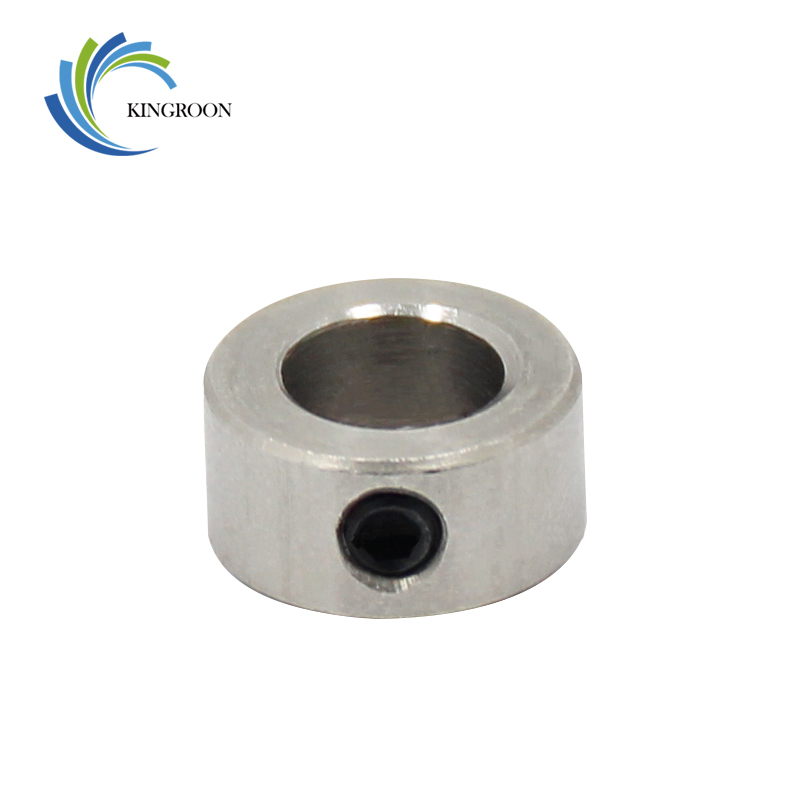 все цены на KINGROON 5PC/Lot Openbuilds Lock Collar T8 Lead Screw Lock Screw Lock Ring Lock Block 8mm Isolation Column 3D Printer Parts 1 онлайн