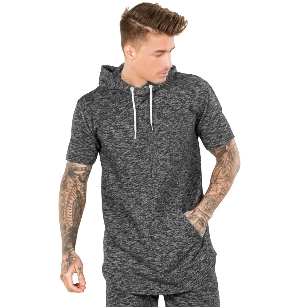 Popular Short Sleeve Hoodies Men-Buy Cheap Short Sleeve Hoodies ...